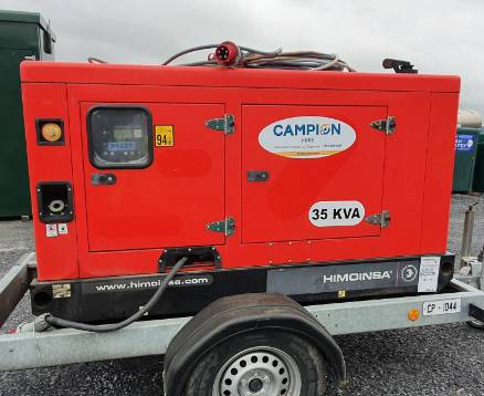 Front view of a fully fitted Campion pumping system