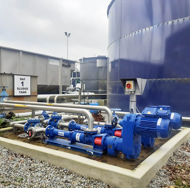 Campions Wasterwater pumping system for Bulmers