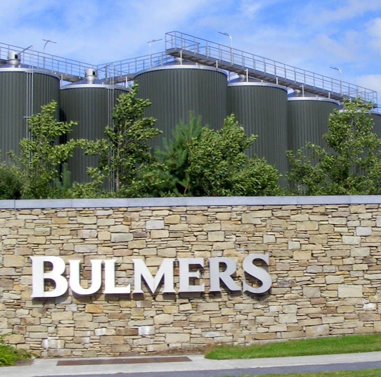 Bulmers factory in Clonmel, Tipperary