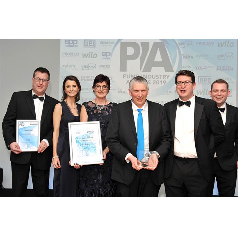 Photo of Campion team receiving an award