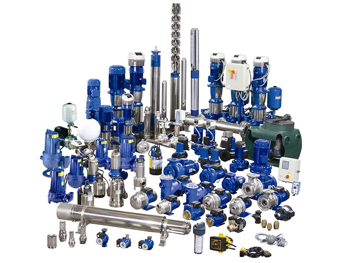 Full range of Campions pumps and accessories