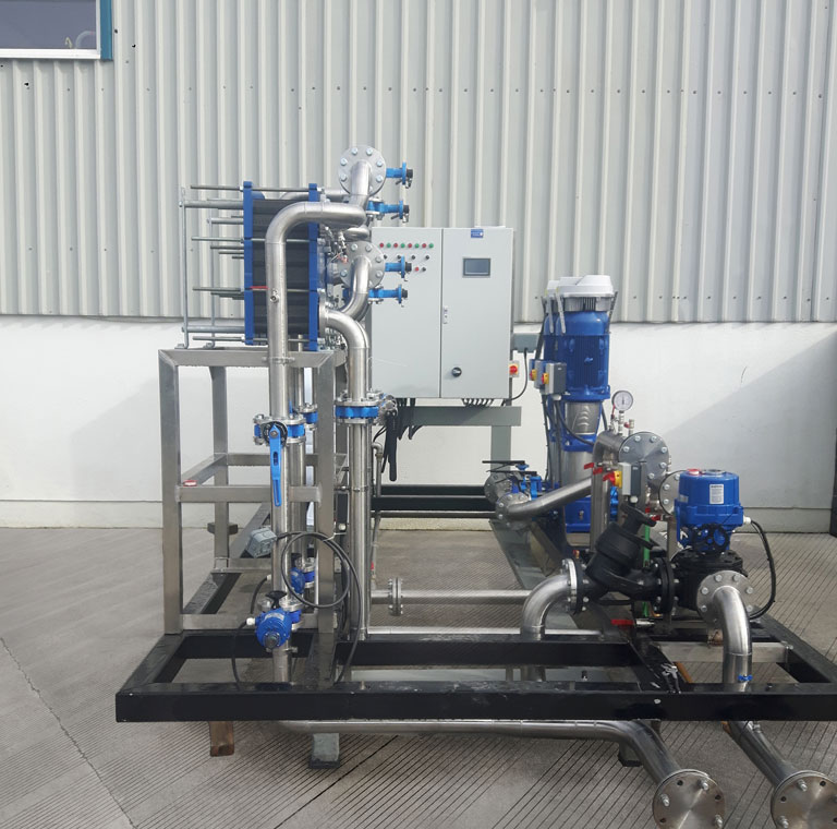 Campions Fully manufactured pumping system for Medical Device client