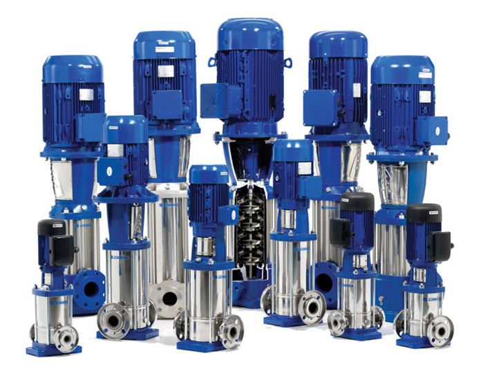 Photo displaying various types of Campion water pump solutions