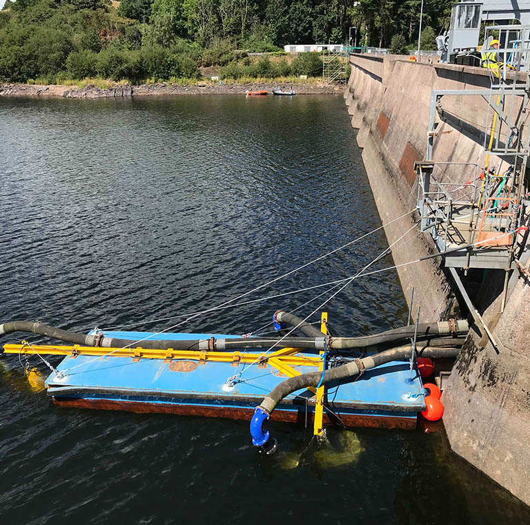 Campion's Pumping solution on river lee, Co. Cork